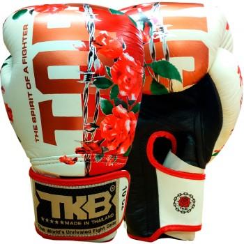 BOXING GLOVES TKB ROSE WHITE