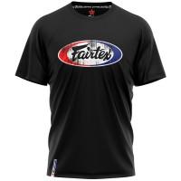 T-SHIRT FAIRTEX TST4 MUAY THAI COTTON BLACK