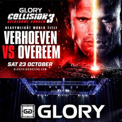 GLORY CHAMP RICO VERHOEVEN DEFENDS HEAVYWEIGHT TITLE AGAINST ALISTAIR OVEREEM ON OCT. 23