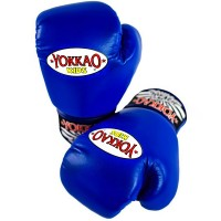 BOXING GLOVES YOKKAO FOR KIDS BLUE 8 OZ