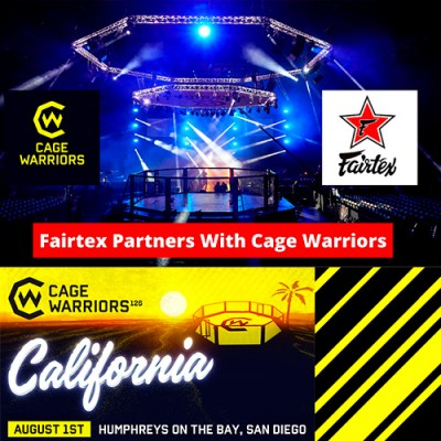 FAIRTEX PARTNERS WITH CAGE WARRIORS