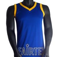 FAIRTEX JS MUAY THAI POLYESTER BLUE-YELLOW