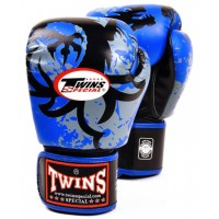 BOXING GLOVES TWINS SPECIAL FBGV-36 BLUE