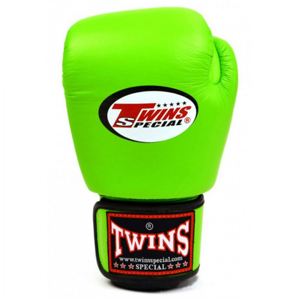 BOXING GLOVES TWINS SPECIAL BGVL-3 LIME