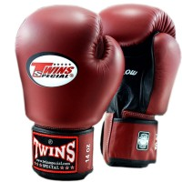 BOXING GLOVES TWINS SPECIAL BGVLA-2 AIR FLOW МAROON