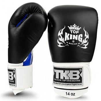 BOXING GLOVES  TOP KING TKBGUV ULTIMATE BLACK-BLUE-WHITE