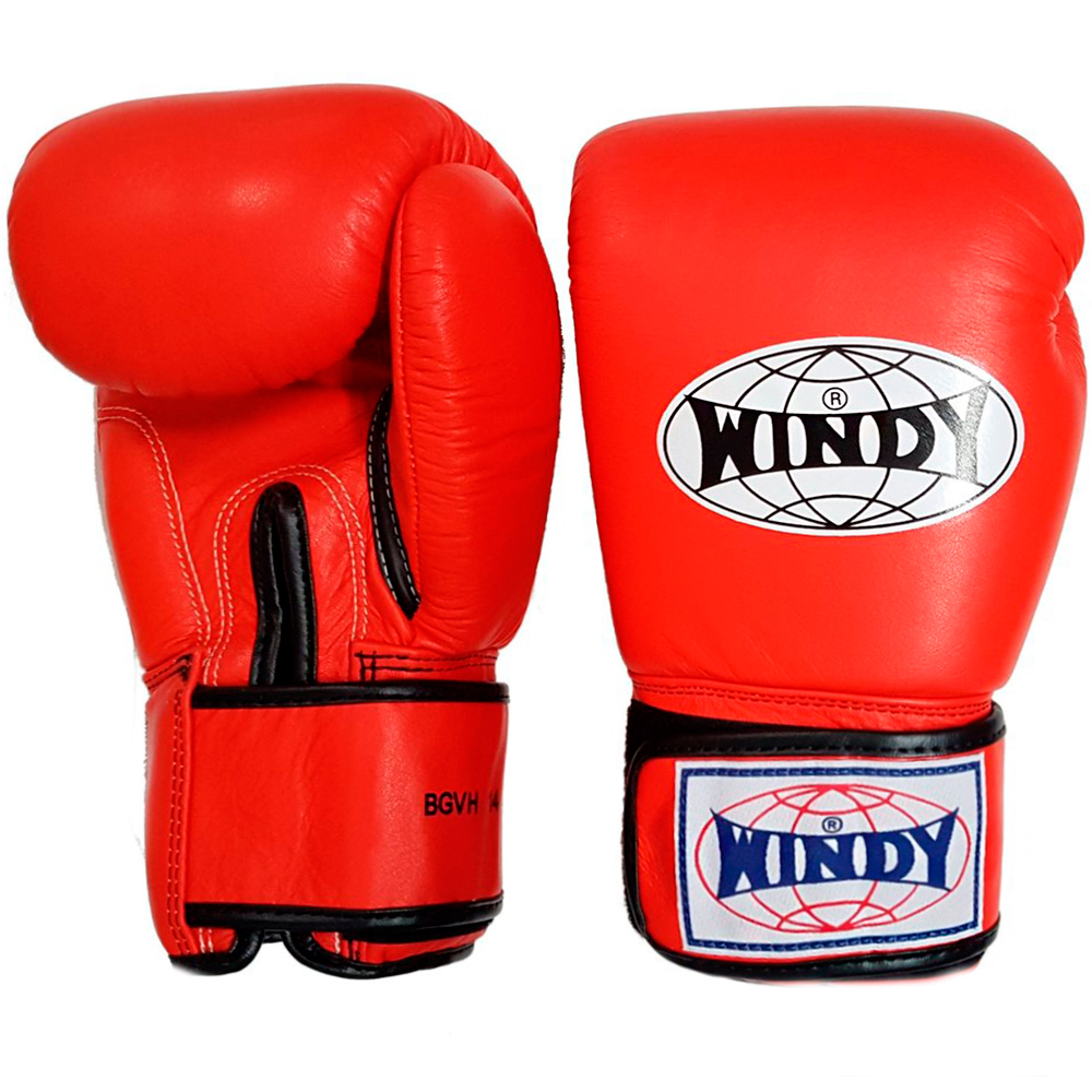 BOXING GLOVES WINDY BGVH RED