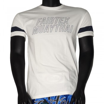 T-SHIRT FAIRTEX TST-192 WHITE MUAY THAI