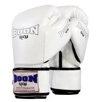 BOXING GLOVES BOON BGCW COMPACT VELCRO WHITE