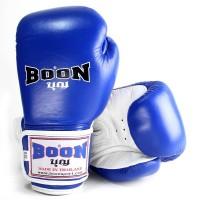 BOXING GLOVES BOON BGVBR BLUE-WHITE VELCRO