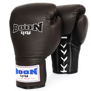 BOXING GLOVES BOON BGLBR LACE-UP BROWN