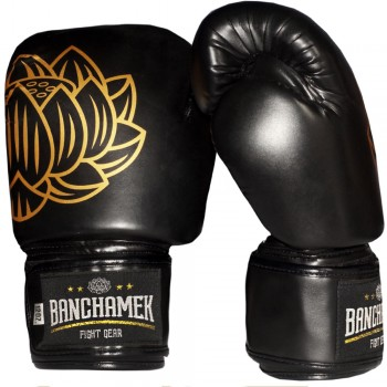 BOXING GLOVES  BUAKAW BANCHAMEK GYM BLACK