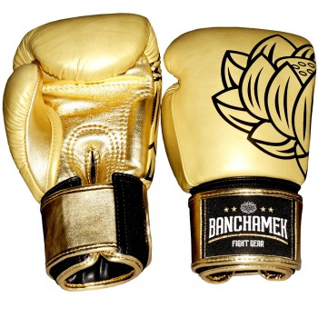 BOXING GLOVES  BUAKAW BANCHAMEK GYM GOLD