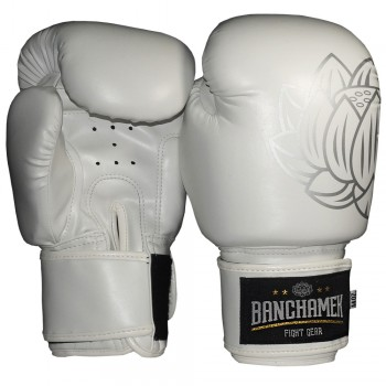 BOXING GLOVES  BUAKAW BANCHAMEK GYM WHITE