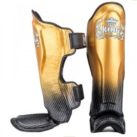 SHIN GUARDS TOP KING SNAKE TKSGSS-01 SUPER STAR GOLD