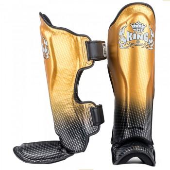 SHIN GUARDS TOP KING SNAKE TKSGSS-01 SUPER STAR GOLD