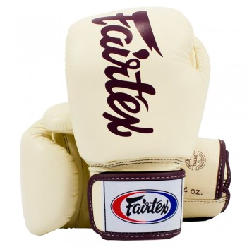 BOXING GLOVES FAIRTEX BGV19 DELUXE TIGHT-FIT GLOVES KHAKI