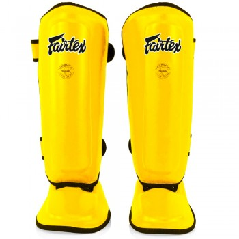 FAIRTEX SPK9 KIDS MUAY THAI SHIN GUARDS YELLOW