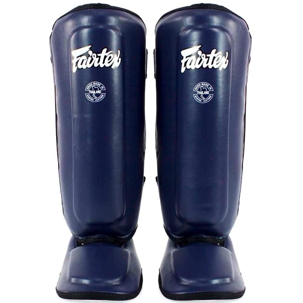 FAIRTEX SPK9 KIDS MUAY THAI SHIN GUARDS BLUE