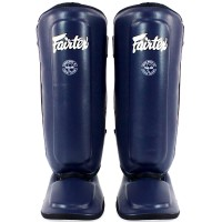 FAIRTEX SPK9 KIDS MUAY THAI SHIN GUARDS BLUE