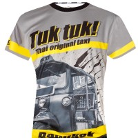 "T-SHIRTS MUAY THAI ""BORN TO BE"" BANGKOK BST TUK TUK"