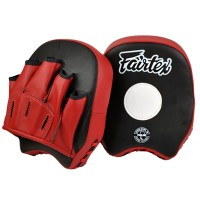 FAIRTEX FMV14  MUAY THAI SHORT FOCUS MITTS