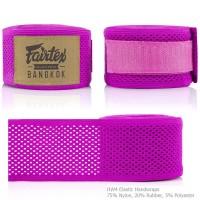 FAIRTEX HW4 MUAY THAI BOXING HAND WRAPS PINK