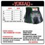 THAI SHORTS YOKKAO  DEDICATION CARBONFIT TYBS-123