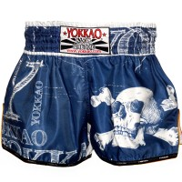 THAI SHORTS YOKKAO  SKULLZ  CARBONFIT TYBS-071