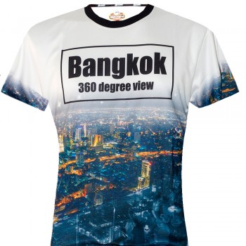"T-SHIRTS MUAY THAI ""BORN TO BE"" BANGKOK BST-6006"