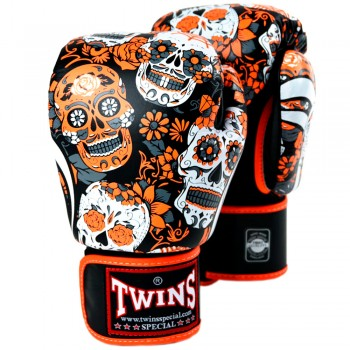 BOXING GLOVES TWINS SPECIAL  FBGVL3-53 ORANGE