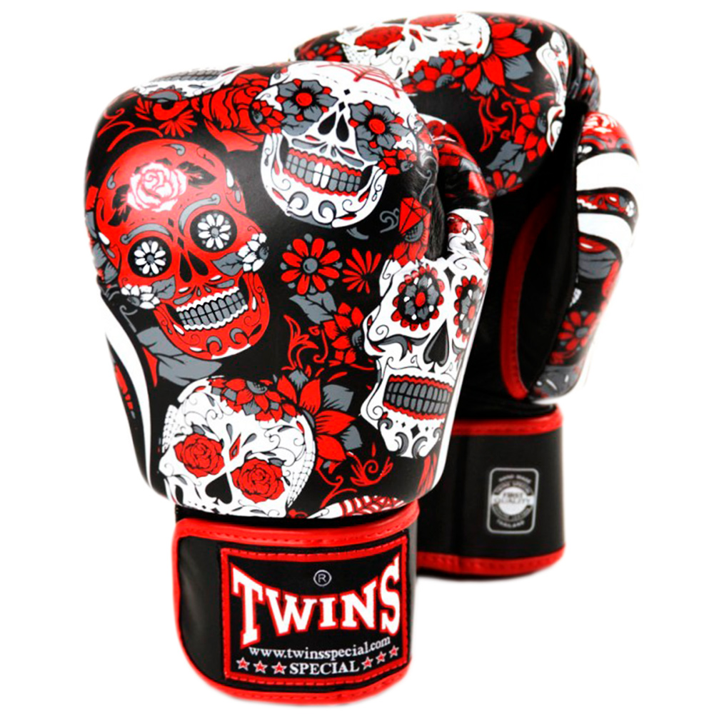BOXING GLOVES TWINS SPECIAL  FBGVL3-53 RED