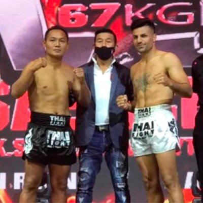 THAI FIGHT: BEGINS RESULTS. SAENCHAI vs GANJI