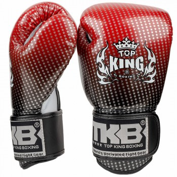 BOXING GLOVES TOP KING SUPER STAR TKBGSS-01-RED