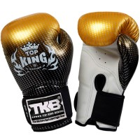 BOXING GLOVES TOP KING SUPER STAR TKBGSS-01 GOLD