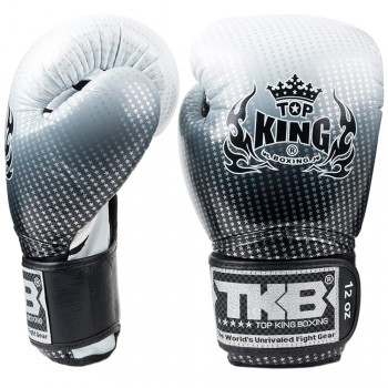 BOXING GLOVES TOP KING SUPER STAR TKBGSS-01 SILVER