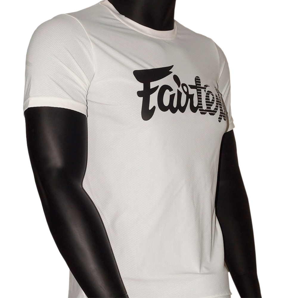 T-SHIRT FAIRTEX TST-181 WHITE MUAY THAI