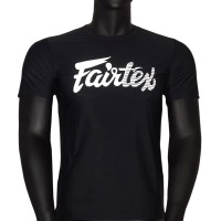 T-SHIRT FAIRTEX TST-181 BLACK MUAY THAI