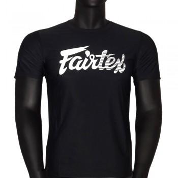 T-SHIRT FAIRTEX TST-181 BLACK MUAY THAI
