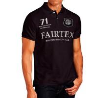 FAIRTEX POLO PL8 T-SHIRT MUAY THAI BLACK