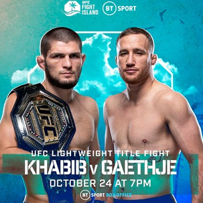 KHABIB NURMAGOMEDOV EXPLAINS STRATEGY TO BEAT JUSTIN GAETHJE