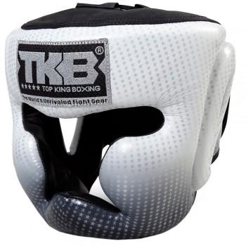 BOXING HEADGEAR TOP KING TKHGSS-01SV SUPER STAR SILVER