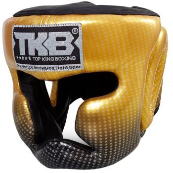 BOXING HEADGEAR TOP KING TKHGSS-01GD SUPER STAR GOLD SIZE MEDIUM