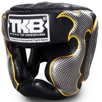 BOXING HEADGEAR TOP KING TKHGEM-01-SV BLACK