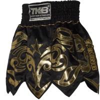 TOP KING GLADIATOR MUAY THAI SHORTS TKTBS-077 BLACK