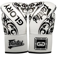 BOXING GLOVES FAIRTEX GlORY BGVGL2 WHITE LACE UP
