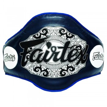 FAIRTEX BPV2  BELLY PAD MUAY THAI TRAINERS BLUE