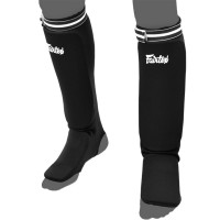 SHIN GUARDS FAIRTEX SPE1 ELASTIC COMPETITION BLACK