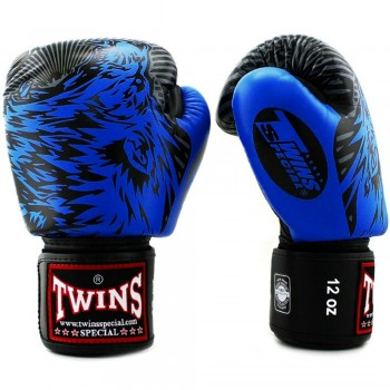 BOXING GLOVES TWINS SPECIAL FBGV-50 WOLF BLUE