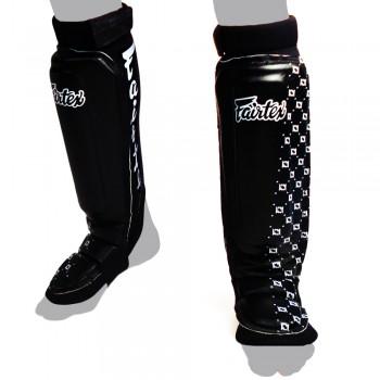 SHIN GUARDS FAIRTEX SP6 MMA STYLE BLACK